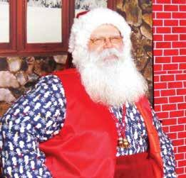 Santa gather his letters from the Lemoore youth.