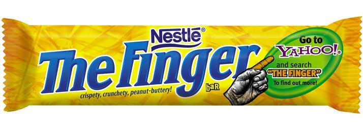 Launching The Finger Situation Analysis Butterfinger is launching a new comedy network through Yahoo!