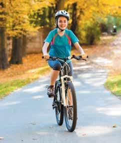 N THE SCHOOL LINK Concerns about road safety mean an increasing number of parents don t want their children riding a bike to school.