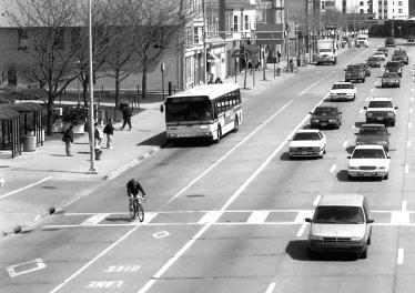 Policy 1: Work with Dane County, the Wisconsin Department of Transportation, the Madison Area MPO and the University of Wisconsin to implement the Bicycle Transportation Plan for the Madison Urban
