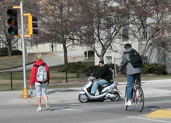 Objectives and Policies for Moped Transportation Objective 14: In close collaboration with the University of Wisconsin, develop policies and regulations that ensure the safe and well-managed use of