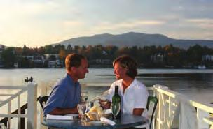 Whether you choose to dine on Veranda s covered deck overlooking the lake, or amidst the classic appointments of the Hearthside room, the ambiance is uniquely Adirondack,
