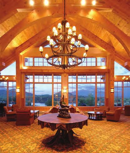 Our perfect in-town location, magnificent 360 degree views of the mountains and lakes, explicit attention to detail, 30, 000 sq. ft.