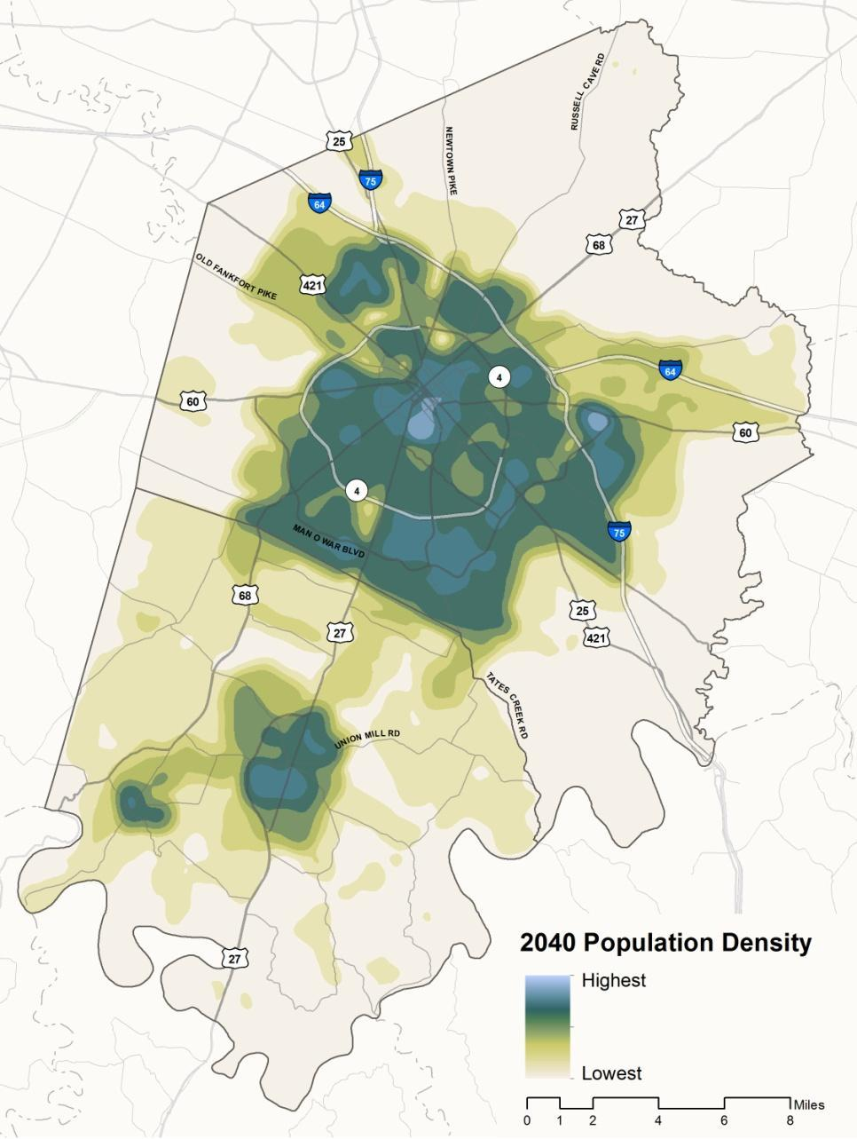 Over the last several decades, the MPO s population has increased by nearly 45,000 people for each 10-yr census period, equivalent to a 35% increase in residents from 1990 to 2010.
