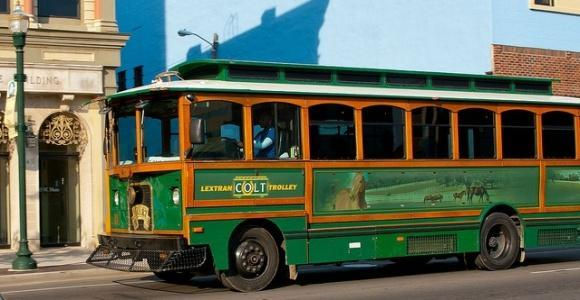Since spring of 2010, Lextran has operated a free downtown trolley circulator service in an effort to enhance the downtown transportation experience.
