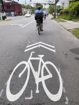 without exclusive designation for bicycles (such as local neighborhood streets) and in many cases, these roadways do not need specific treatments to accommodate bicycle