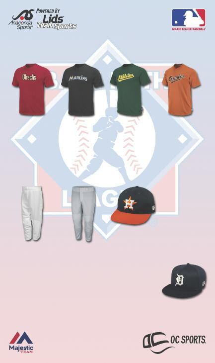 2014 20+ PROGRAM ORDER 20 OR MORE TEAMS WORTH OF MLB REPLICA UNIFORMS FROM ANACONDA SPORTS AND RECEIVE THE SPECIAL PRICING BELOW! Majestic 1922 / 1928 MLB 50/50 Crewneck Style Jersey with Team logo.