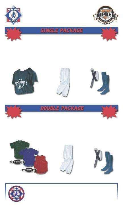 CUSTOM DESIGNED UNIFORM PACKAGES 12 PIECE MINIMUM UP CHARGES MAY APPLY FOR XXL & 3XL SIZES ADULT YOUTH $ 29. 95 $ 29.