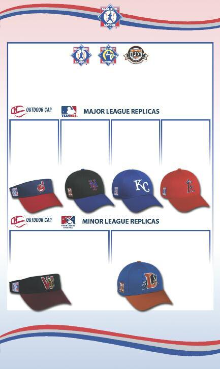 (800) 327-0074 ALL MAJOR LEAGUE REPLICAS ARE AVAILABLE IN EVERY MAJOR LEAGUE CLUB! PRICES INCLUDE YOUR CHOICE OF BABE RUTH LEAGUE PATCH, SPECIFY WHEN ORDERING.