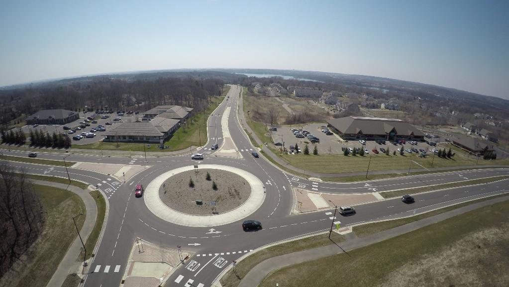 Multilane Roundabout Lessons Learned Lakeville Case Study 2 CH 50 (Kenwood Tr) and CH 60 (185 th St) in