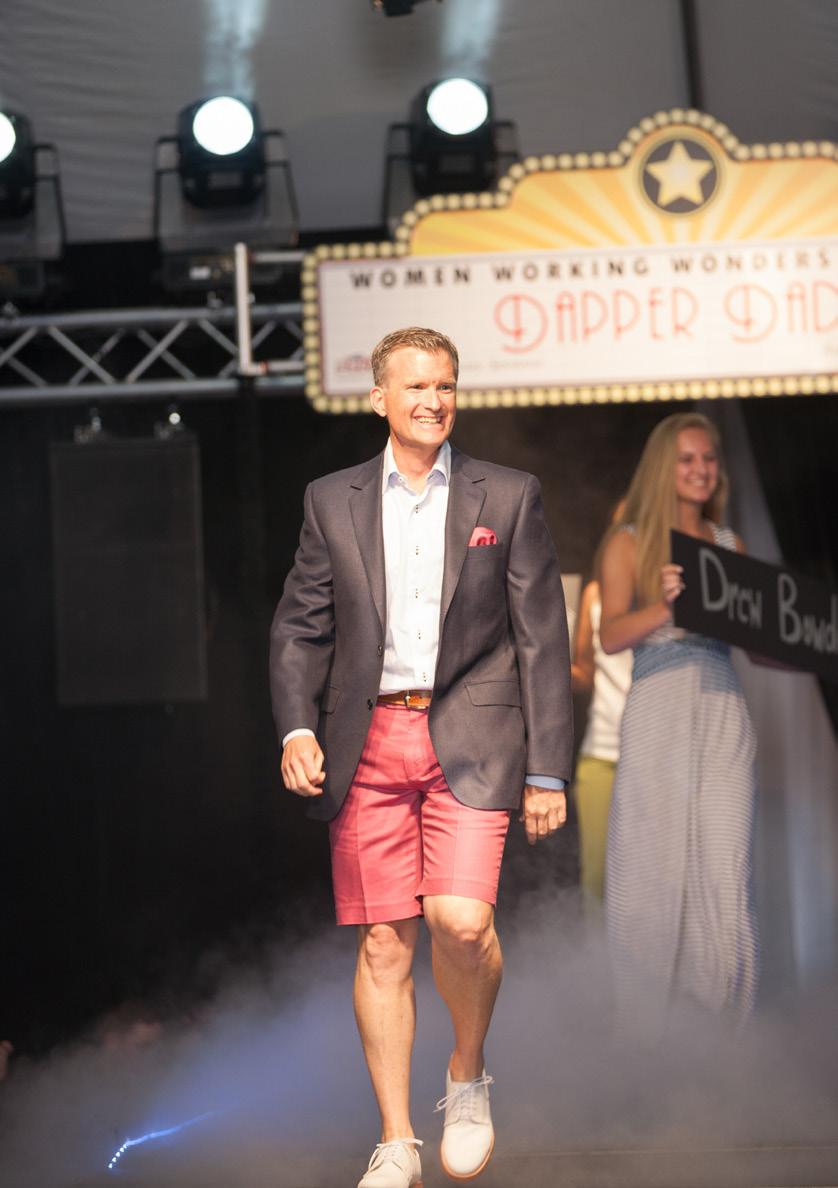 Dapper Dads June 7, 2018 RUNWAY SPONSOR (Exclusive) $10,000+ Logo as Runway Sponsor on select print materials Recognition as Runway Sponsor on event webpage (viewed every time a vote is cast) Logo on