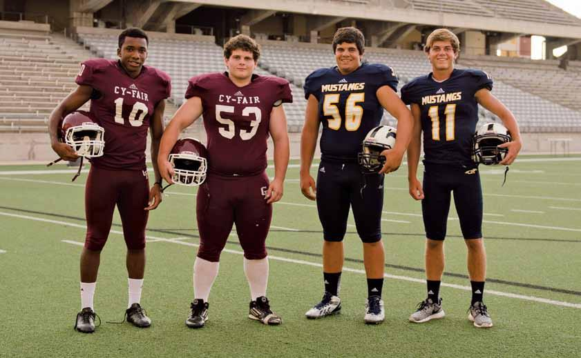 special feature Photo by Sara Isola high school Football PREVIEW Cy-Fair Bobcats Brandon