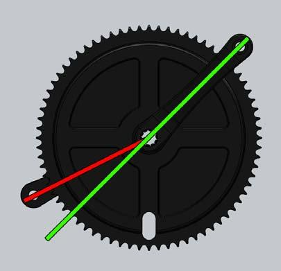6mm) If any of these components are mismatched, there will be compatibility or timing issues between the cranks, chain and flywheel sprocket.
