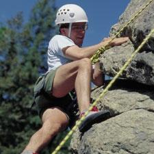 While introduction of the Climbing merit badge in spring 1997 spurred interest in these activities through the BSA, the proliferation of climbing gyms and facilities has also made climbing and