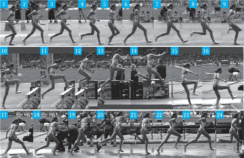 Multiple interactive Hyperlinks Video Library TECHNICAL MODEL Knowledge of a technical model based on high-performance sport (variations included) is important when training
