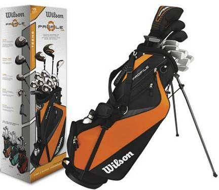 (10749) WILSON PROFILE TEEN 15 PIECE GOLF SET WITH BAG- Left and right handed sets available. $399.95 each. Call BNL!