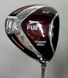 MENS SLAZENGER FURY OVERSIZE DRIVER - This oversized 460cc Ti Driver is Available in Men s Right and