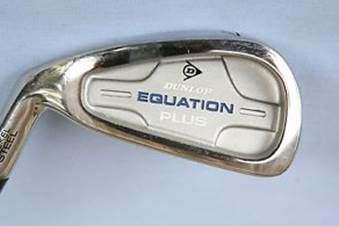 BRAND NEW IN THE BOX FULL SET OF IRONS MADE BY DUNLOP LEFT HAND Equa Plus Full set of Left-handed Irons, Made by