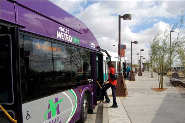 Role of Regional Transit Centers Six transit centers connect bus to rail Connect light rail with other modes Provide