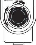 Operation 6 Figure 6 2. Push and rotate the suction control knob until the vacuum gauge indicates the required setting.