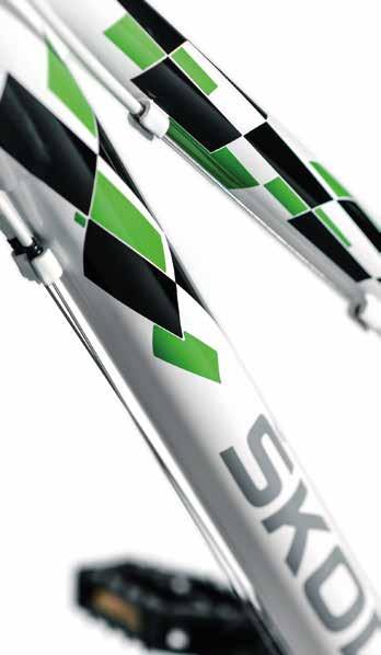 "ŠKODA Racing 24 Children bike ŠKODA Racing 24 with the frame height of 13"" is intended for children who are not tall enough for adult"