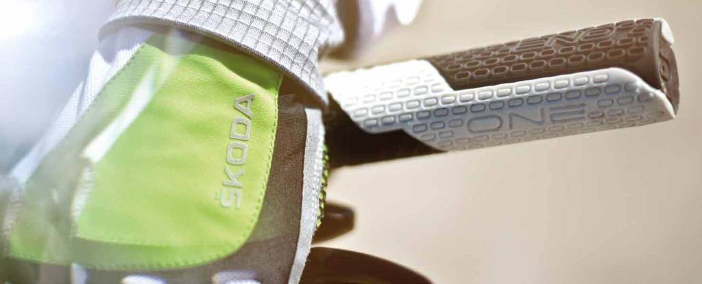ŠKODA BICYCLE ACCESSORIES To make cycling products offer complete, ŠKODA had prepared also a collection of cycling accessories, including helmets, glasses, tool kits made