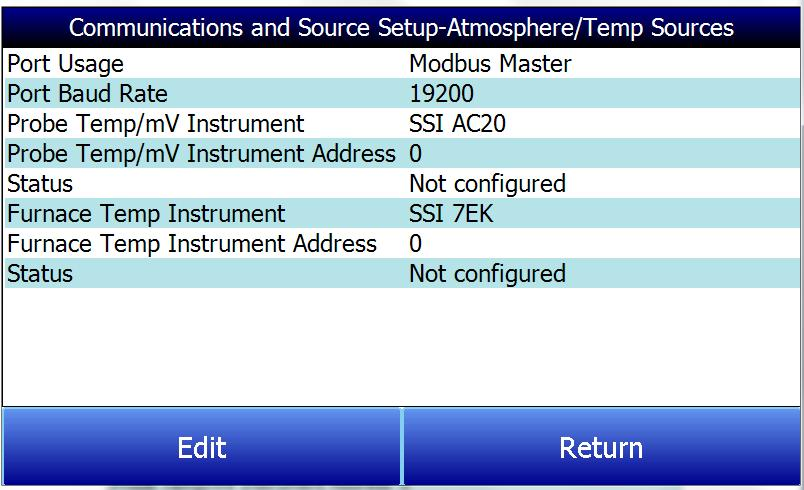 17. The instrument will automatically boot up as a gas analyzer with the IP address that has been manually entered.