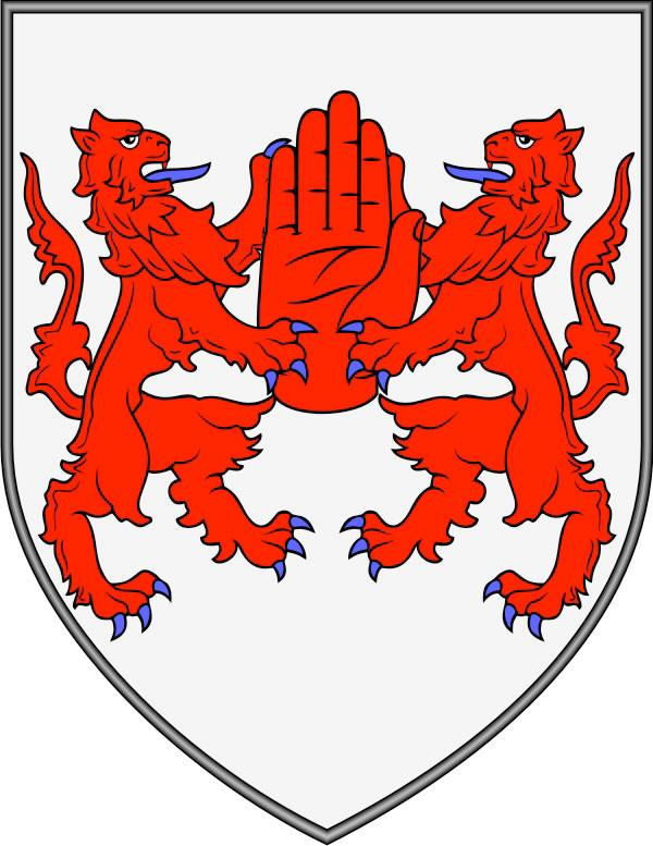 Keep your ideas simple. The main purpose of heraldry was identification.