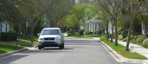 Local Residential Streets are designed and maintained to provide access to abutting land uses.