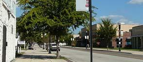 5.2 Avenues Avenues are typically collector or constrained arterial streets.