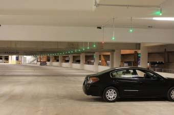 Automatic Parking Guidance System (APGS) Collect real-time data for parking garage