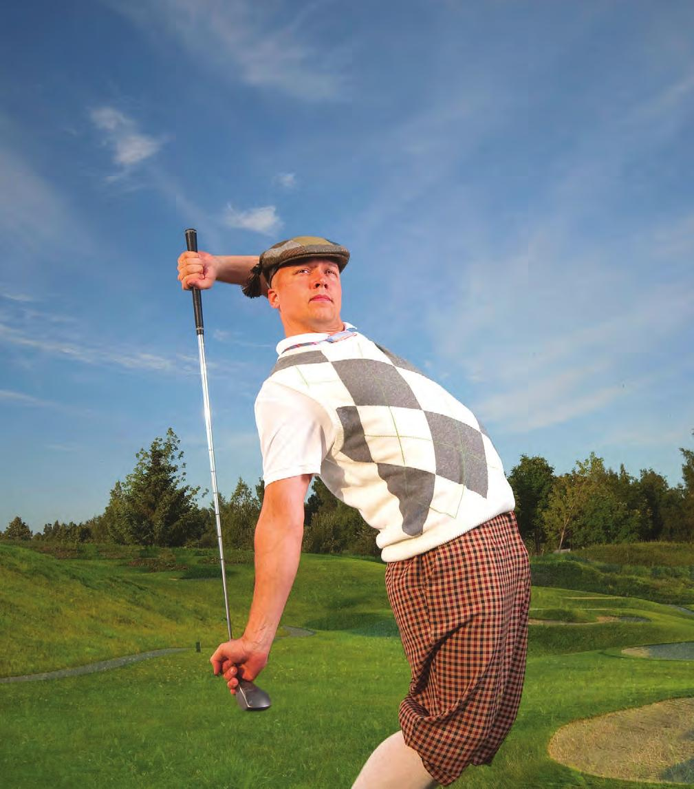 There are many golf courses and learning centers throughout the tri-state area that