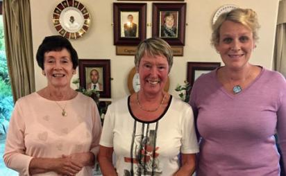 Ladies Competitions Results Winnie Spencer Foursomes Winners with Lady