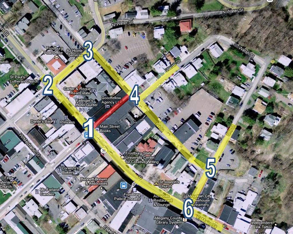 Alley 24 Traffic Study January 2013 Frostburg, Maryland Introduction The purpose of this report is to identify the existing traffic conditions surrounding Alley 24 in Frostburg, Maryland and to