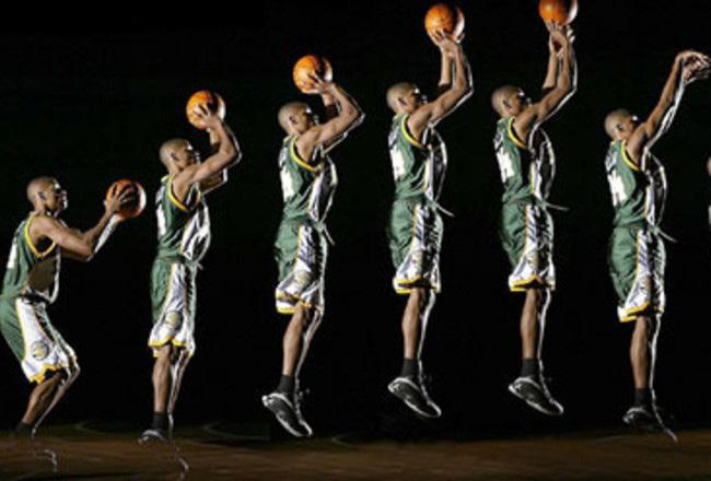 Shooting Jump Shots Newton s laws of motion are very important when it comes to shooting the basketball. All three of the laws need to be considered when trying to shoot the perfect shot.
