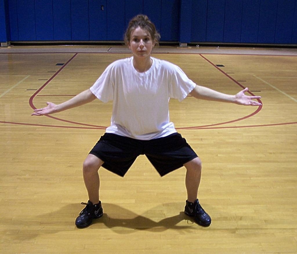 Defense Defensive Stance Lateral movement is a key part of the defensive stance Keeping a wide stance with your feet will maximize your lateral quickness Wide feet allow you to push off of the ground