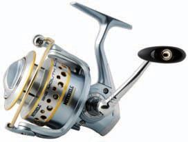 BERKLEY MITCHELL BIG MOUTH The new new large arbor spool is the result of a shift in thinking about the design of spinning reels. The large diameter spool offers several key advantages.