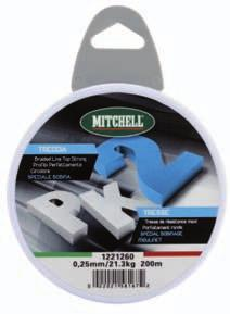 BERKLEY MITCHELL PK BRAIDED 55 00587 0.08mm 5.7 kg 00m Dark Green 0 5 00584 0.0mm.9kg 00m Dark Green 0 57 00584 0.mm 7.