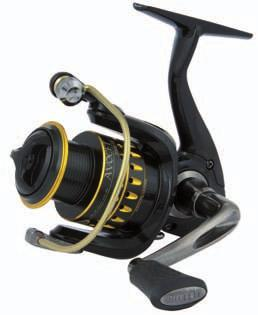 BERKLEY MITCHELL AVOCET GOLD 7+ Bearings Advanced Polymeric Body and Rotor Aluminum handle for strength and non-flex reliability 7+ Alu Alu 5.