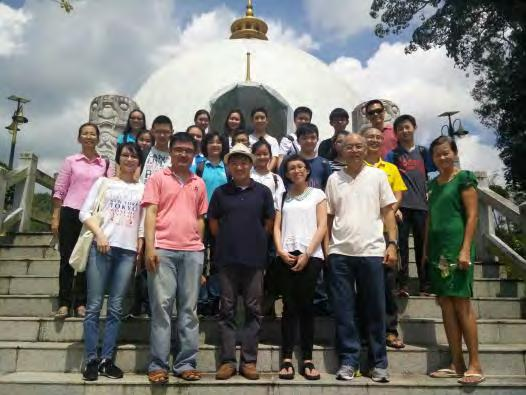 Buddhist Society Visit to Kuching Buddhist Society and Kuching Buddhist Village 15 August 2015 Fifteen students from the Buddhist Society of St