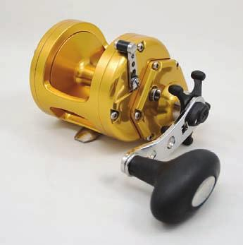 This reel has unbelievable torque, cranking power and drag capabilities.