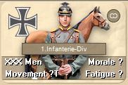 Once you move adjacent to the German cavalry unit, it will probably fire at you through the use of opportunity fire.