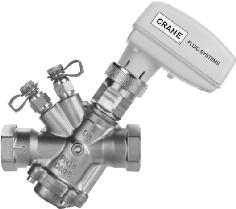 INSTALLATION, OPERATING AND MAINTENANCE INSTRUCTIONS PRESSURE INDEPENDENT CONTROL VALVE (PICV) D991 GENERAL NOTES OF SAFETY The Crane D991 PICV; can be used in variable volume heating and chilled