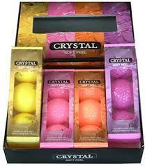 Adams New Idea Crystal Golf Balls Set Includes Bag & Putter Now Only! $20.