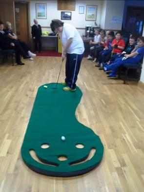 Primary Schools The Junior Golf Association of Monifieth Links in local Monifieth Primary Schools have a six week programme designed to give children aged nine a first introduction to golf.