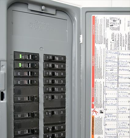 Circuit Protective Devices Circuit breakers trip if overloaded Don