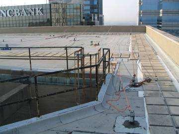 Common Fall Protection Systems in Our Industry Perimeter Guarding A physical barrier that restricts a worker from entering a fall hazard area.