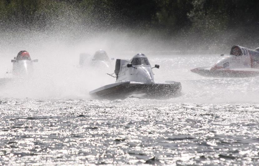 and old alike. In previous years powerboat racing was a hugely popular sport.