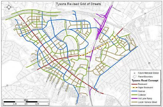 Grid of Streets Functional classification guides the application of design