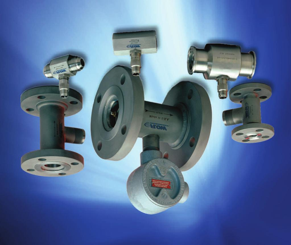 Turbine Flowmeters for Gas Applications Description Flow Technology s FT Series turbine flowmeters utilize a proven flow measurement technology to provide exceptionally reliable digital outputs.